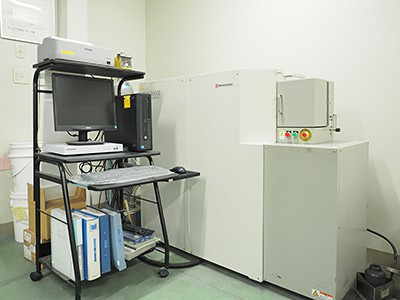 SHIMAZU 発光分析装置