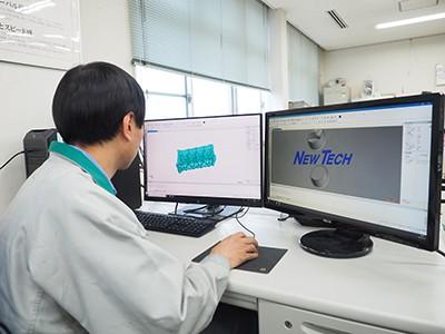 3次元CADによる設計業務